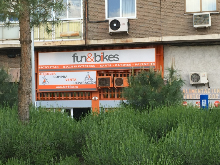 Yet another bicycle rental shop
