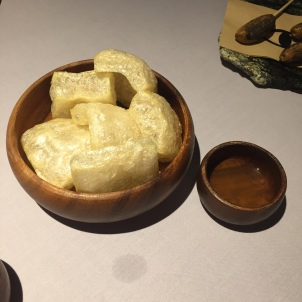 Wagyu chicharon with suka