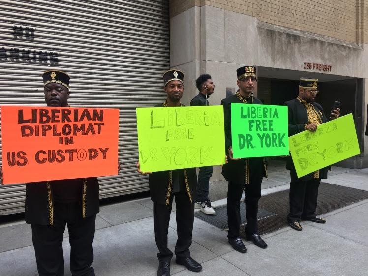 IMG_1705 Liberia protest diplomat United Nations New York