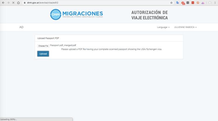 AVE Argentina Visa Filipinos